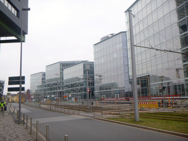 IMMOFINANZ Float Medienhafen in Düsseldorf